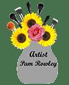 Artist Pam Rowley